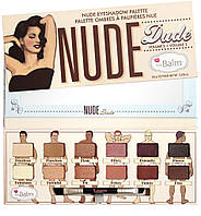 Палетка теней Nude Dude от The Balm
