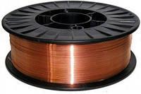 Сварочная проволока омедненная (ER 70S-6 ) 1 мм (5 кг) FORTE 24919 (Китай)