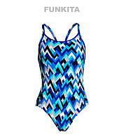 Женский сдельный купальник Funkita Peak Performance FS11, фото 1