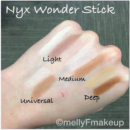 NYX Wonder Stick - Хайлайтер-контур в стике реплика, фото 2
