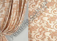Шторы  жаккард сатин  ( портьерная ткань)