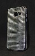 Чехол Samsung A320/A3 черный Блеск