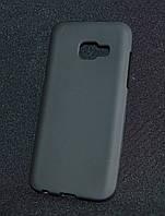 Чехол Samsung A320/A3 черный(Самсунг А320/А3, бампер, защита для телефонов, кейс, накладка)