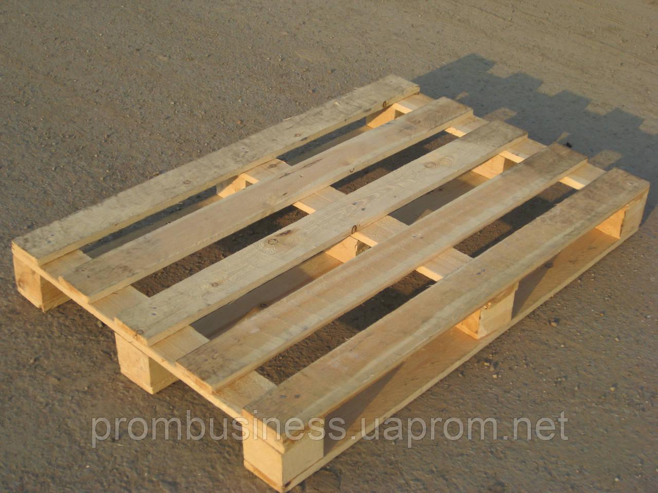 Поддон деревянный новый 1200х800