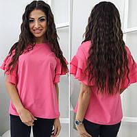 "Блуза женская, Ткань:Шёлк ""Армани"" 4 расцветки ,фото реал ,супер качество тдод №1108"
