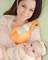 "Держатель бутылки для младенцев ""Свободные руки"" Hands Free Bottle Holder Multi Task While You Feed"