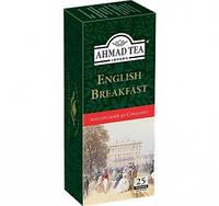 Чай  АХMAД Английский  завтрак черный байховый  25 пакетиков