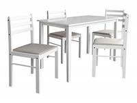 """Комплект столовой мебели """"Сириус"""" (белый)"""