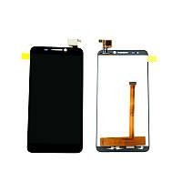 Модуль Alcatel Idol mini 6012D black (оригинал) дисплей экран, сенсор тач скрин для телефона смартфона