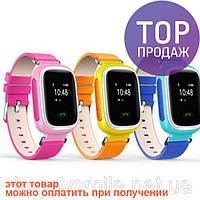 Детские GPS часы-телефон Smart baby watch WECARE Q60 / детские наручные часы