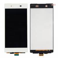 Дисплей (экран) + сенсор (тач скрин) Sony Xperia Z3+ (Plus) E6533 white (оригинал)