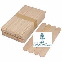 Шпатели для депиляции, лопатки деревянные 50шт