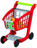 Тележка для супермаркета с продуктами, Ecoiffier