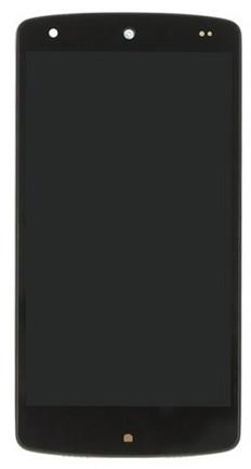 Модуль LG D820, D821 Nexus 5 Google black (оригинал) дисплей экран, се