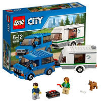Конструктор Lego City 60117 Фургон и дом на колёсах