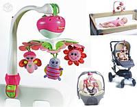 Мобиль 3в1 для кроватки, коляски, кресла для девочки Tiny Love Оригинал из США