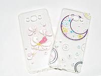 Чехол силиконовый Samsung J710/J7, Diamond(Самсунг Джи710, чехол- накладка, бампер, кейс, защита для телефона)