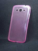 Чехол Samsung G7102 розовый  (Самсунг  ж7102 , чехол- накладка, бампер, защита для телефонов)