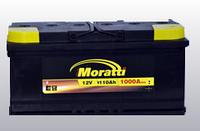 Аккумулятор автомобильный MORATTI PREMIUM 110 A-h 1000 A (EN) R +