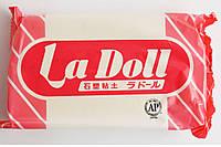 Ла Долл, La Doll 500г, самозастывающая прочная глина, производство Япония, Padico