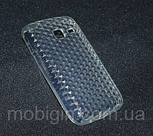 Чехол  Samsung S5380 прозрачный Diamond