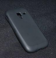 Чехол Samsung i8160 чёрный  (Самсунг и8160, чехол- накладка, бампер, кейс, защита для телефонов)