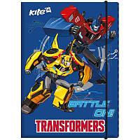 """Папка для труда Kite """"Transformers"""" (TF17-213)"""