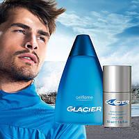 Мужской парфюмерный набор на подарок Glacier парфюм+дезодорант от Oriflame