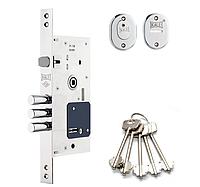 Замок врезной Kale 252RL 5 ключей с накладками (Турция)