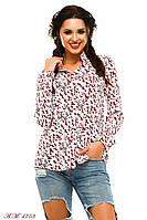 Женская рубашка с бантиками №56-103