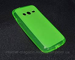 Чехол Samsung J105/G313 зелёный