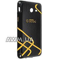 Чехол накладка OCOC на Samsung Galaxy J5 2017 (J530) черный
