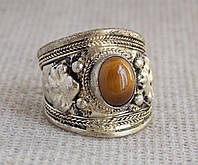 Кольцо с тигровым глазом № 4. Кольца с камнями