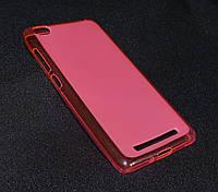 Чехол Xiaomi Redmi 3 розовый (Ксиоми редми 3, чехол-накладка, бампер, защита для телефонов, кейс )