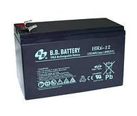 Аккумуляторная батарея B.B. Battery HR 6-12 (12V, 6 Ah)