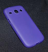 Чехол Samsung i8262 фиолетовый  (Самсунг и8262, чехол- накладка, бампер, кейс, защита для телефонов)