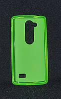 Чехол LG Y50/H324 Leon зеленый