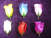 Бутон розы средний атлас (есть 20 расцветок), фото 1