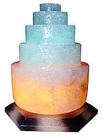Соляная лампа Пагода круглая