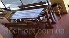 Деревянная мебель для ресторанов, фото 3