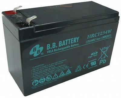 Аккумуляторная батарея B.B. Battery HRC 1234W (12V, 9 Ah)