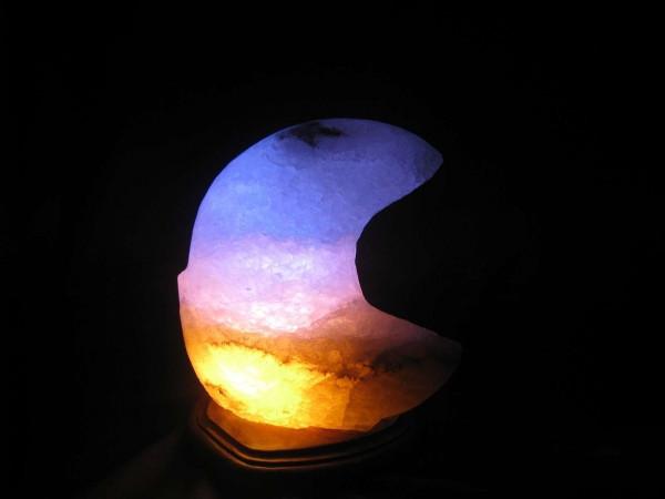 Соляная лампа Месяц