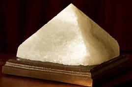 Соляная лампа Пирамида энергетическая