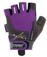 Перчатки для фитнеса сиреневые WOMANS POWER без пальцев женские р. XS, S, фото 1