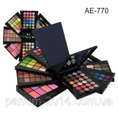 Набор для макияжа (2 пудры, 8 румян, 120 теней) Alex Horse AE-770, фото 2