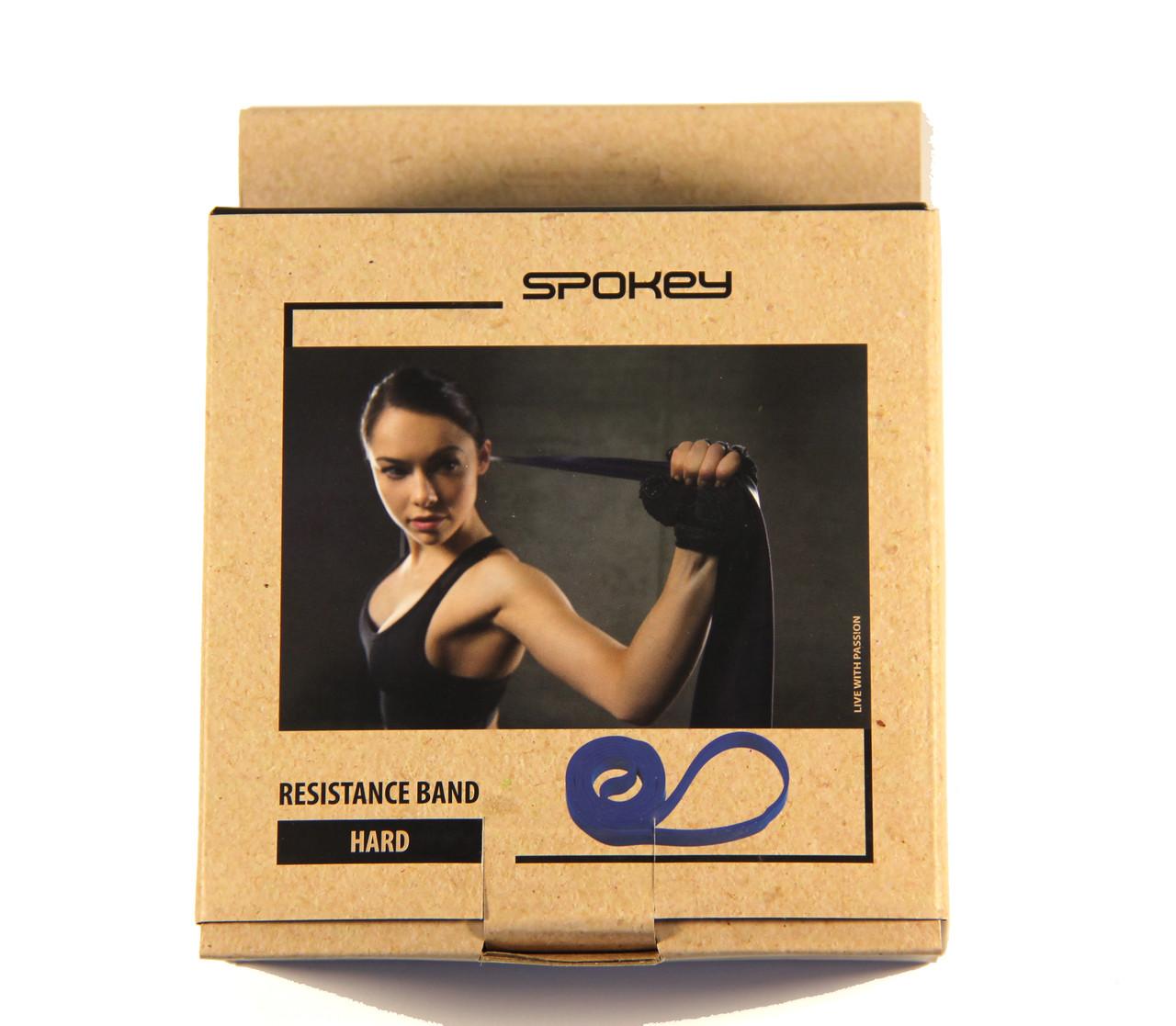 Тренажер-эспандер ленточный Spokey (original) Power hard 15-20 kg амортизатор резиновый, петля