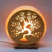 Соляная лампа Круглая большая Денежное дерево