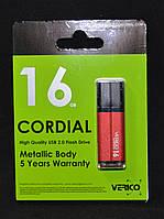Накопитель USB 16Gb Verico Cordial красный