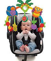 Музыкальная дуга на коляску, авто-кресло Playgro Tropical Tunes Travel Play Arch Оригинал из США
