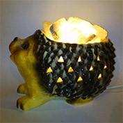 Керамический соляной светильник